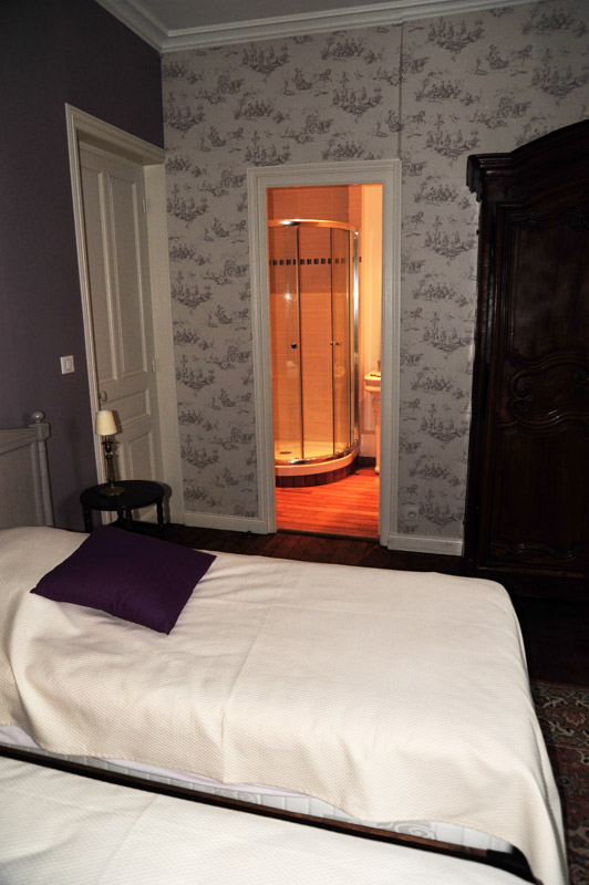 Lanroz, B&B in Quimper, the bedrooms